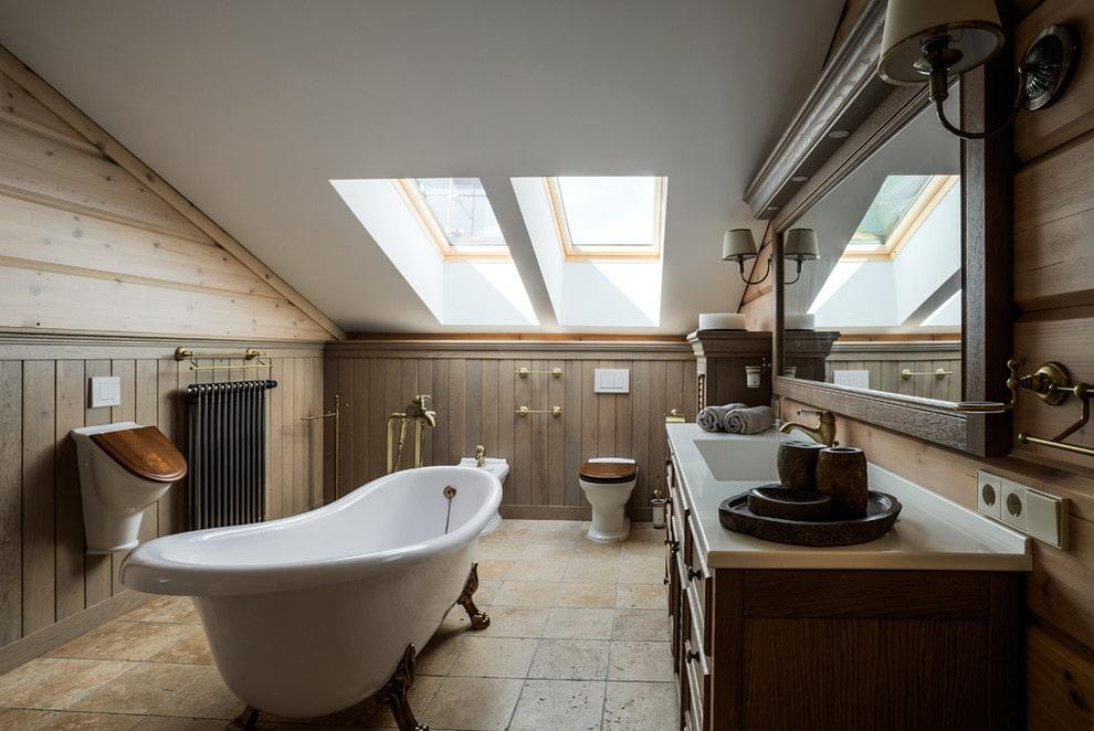 Salle de bain dans une maison privée: revue de photos des meilleures idées