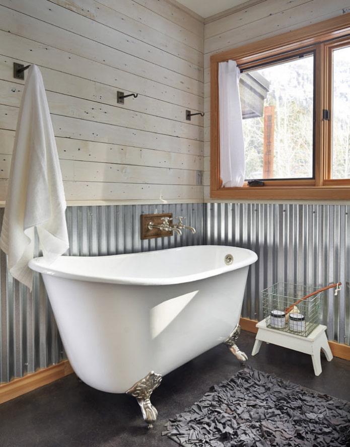 décoration de clins de salle de bain