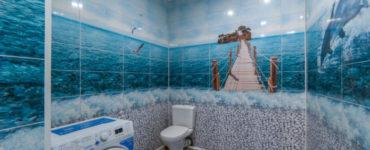 Бюджетные идеи отделки ванной комнаты