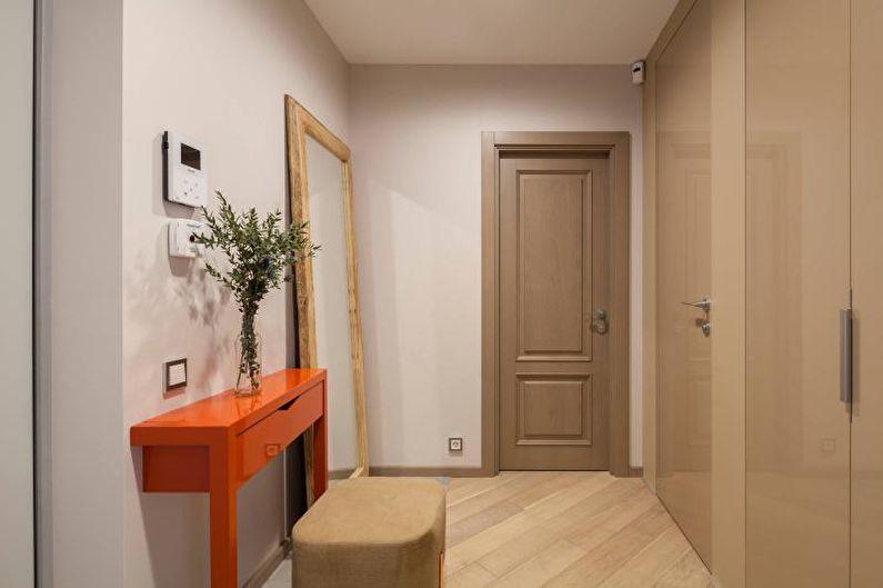 Couloir beige - Design d'intérieur 2021