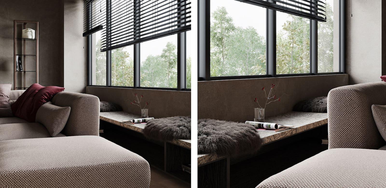 conception d'un appartement d'une pièce photo 5