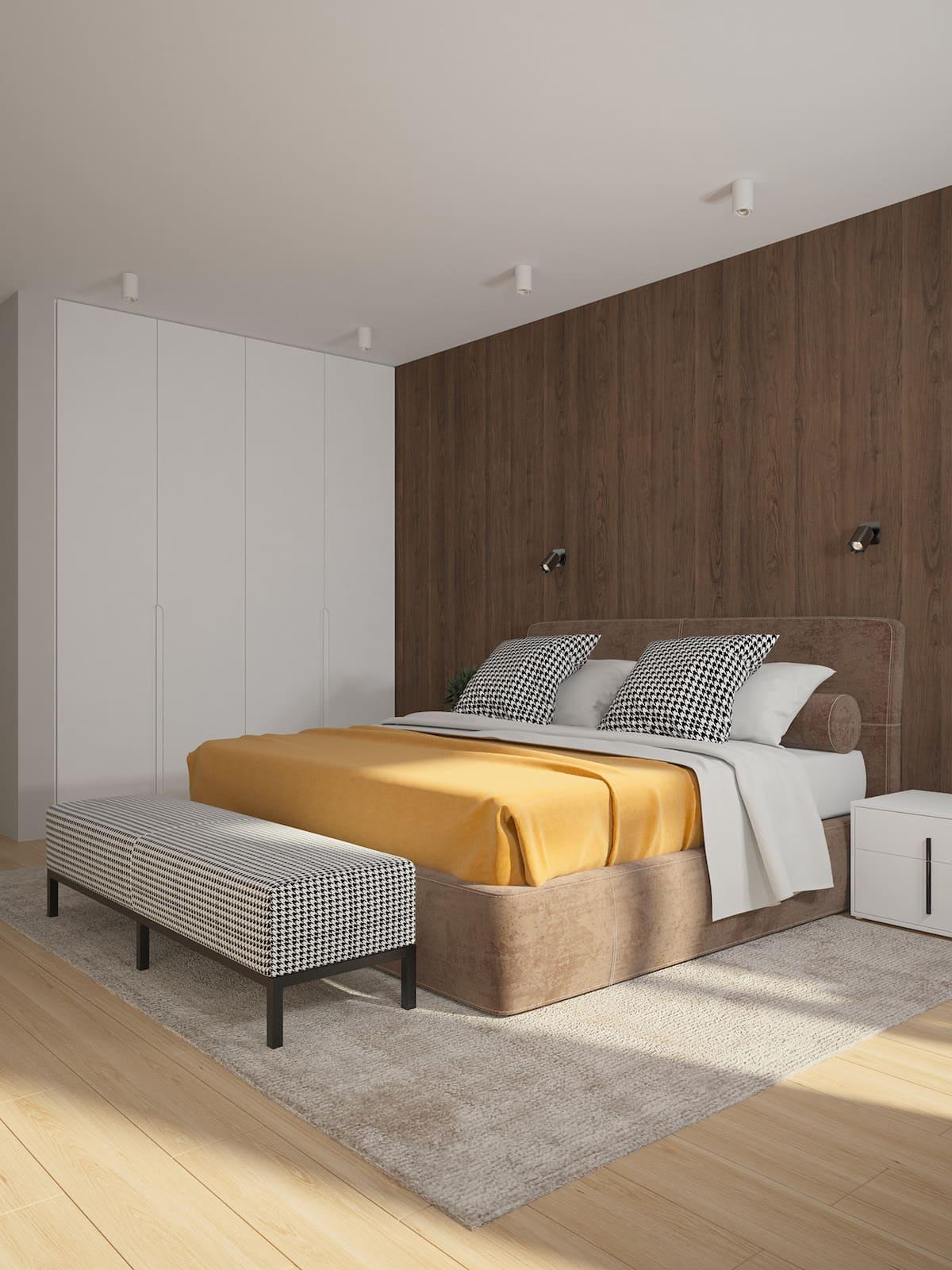 conception d'un appartement d'une pièce photo 10
