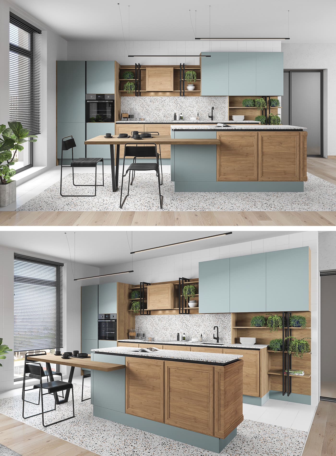 conception d'un appartement d'une pièce photo 16