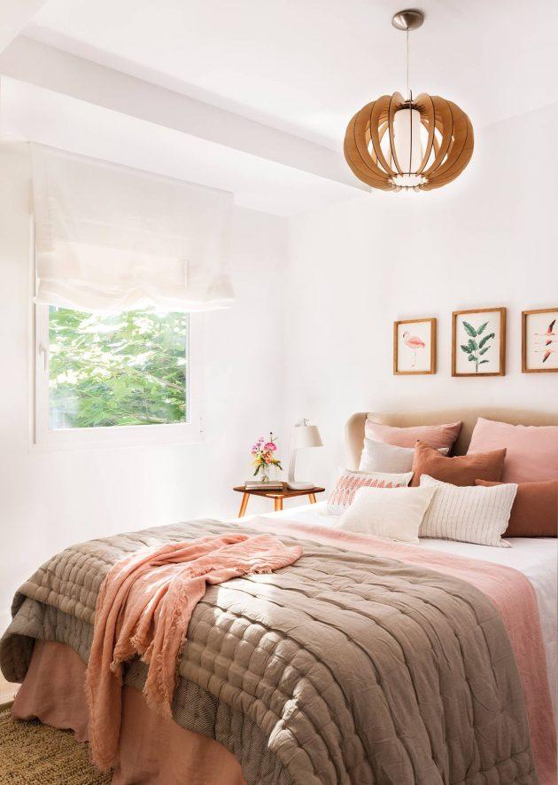 Chambres de printemps qui vous donneront la sensation d'un jardin plein de fleurs fraîches
