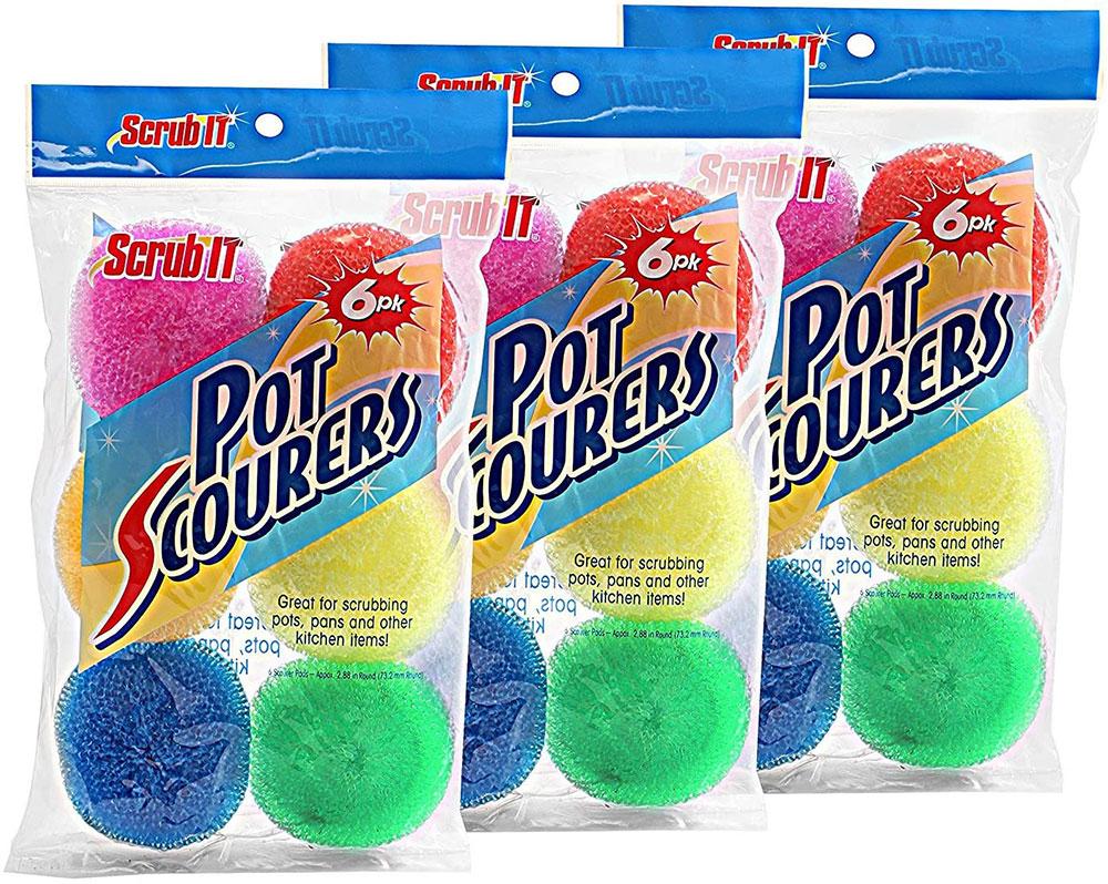 Tampon à récurer en nylon Les meilleurs outils de nettoyage de vitres à acheter pour un travail plus facile (réponse)