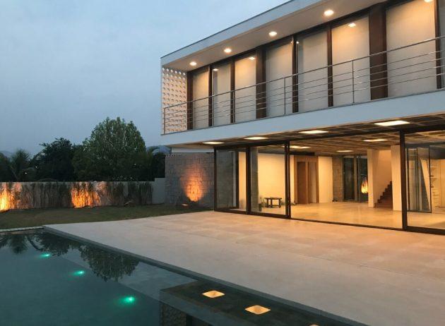 Reserva House par Pablo Padin Arquiteto au Brésil