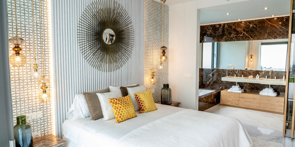 Glendale-Living-by-Architexture-Interior-Design How much does it cost to build a master bedroom and bath
