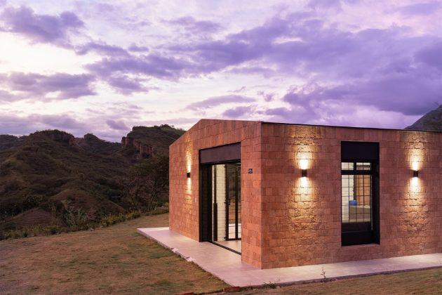 Maison autochtone par David Regalado Arquitectura à Malacatos, Équateur