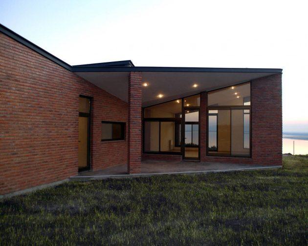 Maison Diamante par Marsino Arquitectura en Argentine