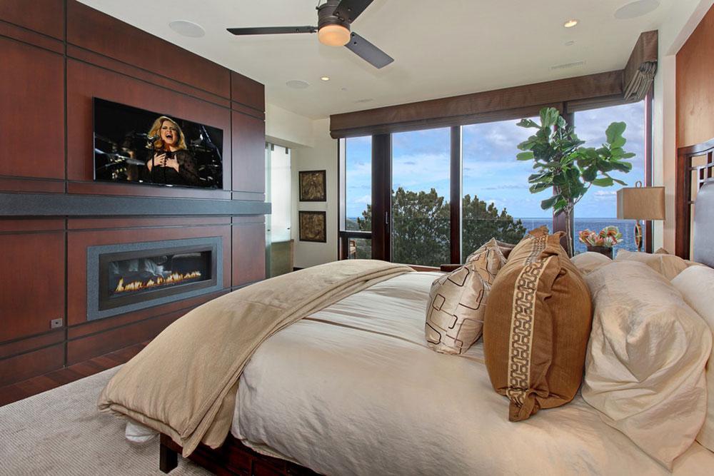 Coastal-Contemporary-by-Studio-6-Architects À quelle hauteur installer le téléviseur dans votre chambre?  (Répondu)