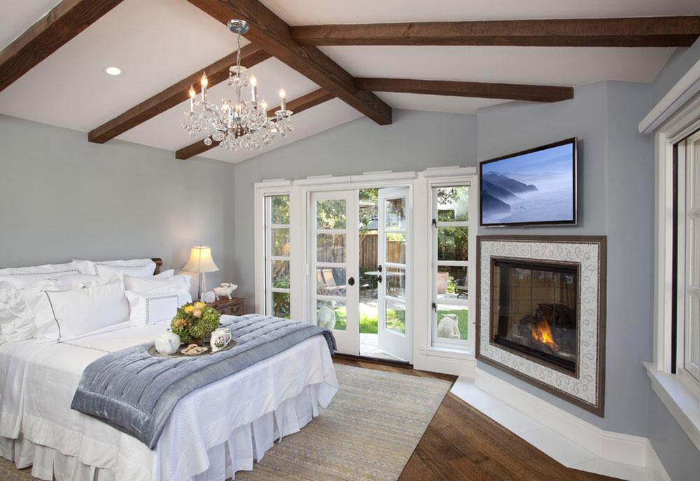 Carmel-by-Anna-Lisa-Avelar-Interior-Design À quelle hauteur installer le téléviseur dans votre chambre?  (Répondu)
