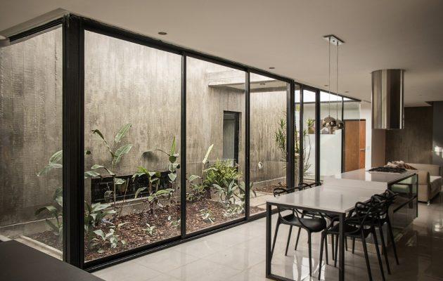 Maison Quintas par Etereo Arquitectos à Tafi Viejo, Argentine