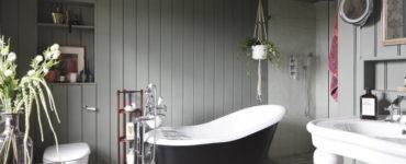13 способов отделки ванной вместо плитки
