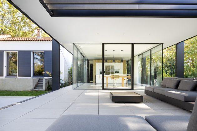 CTN House par Brengues Le Pavec Architectes à Montpellier, France