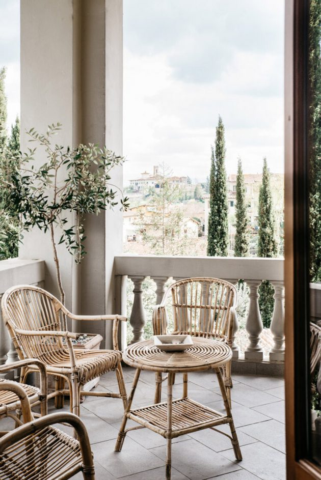 Un Bed & Breakfast lent en Toscane