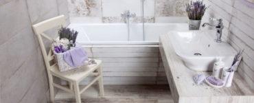 Дизайн ванной комнаты в стиле прованс