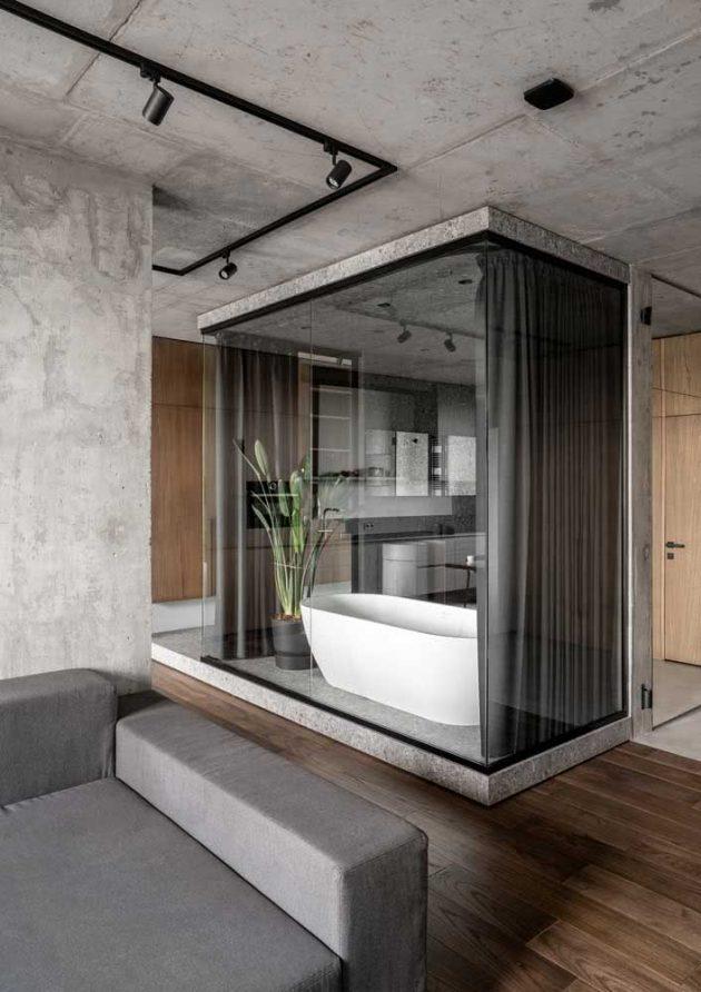 Conseils pour décorer une salle de bain grise