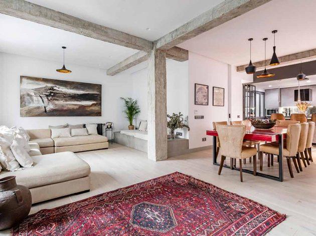 Maison confortable, exotique et chaleureuse rappelant le Moyen-Orient