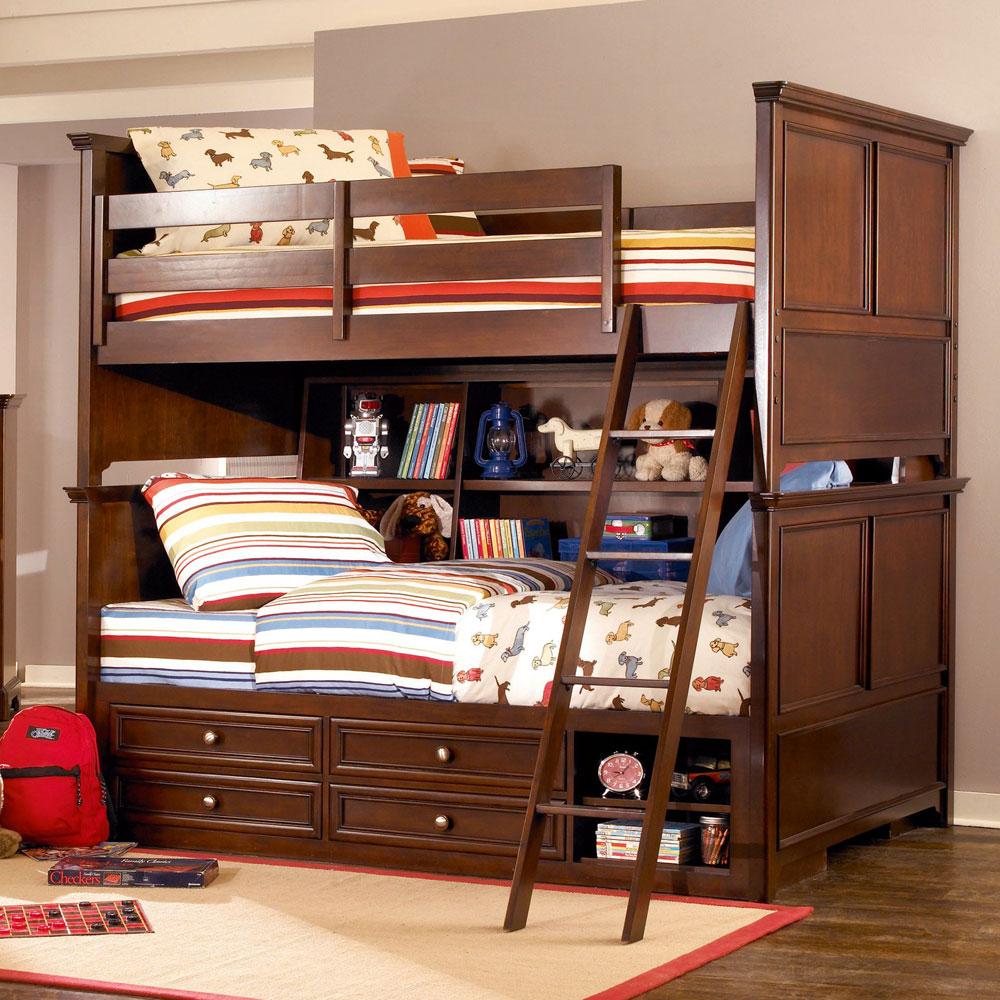 Bunk-Beds-Design-Ideas-5 Idées de lits superposés pour garçons et filles: 58 meilleures conceptions
