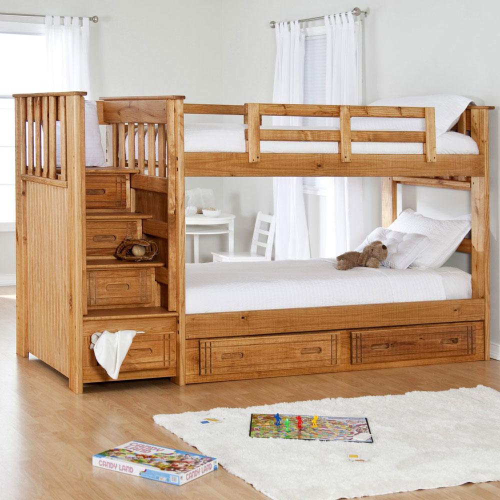 Bunk-Beds-Design-Ideas-9 Idées de lits superposés pour garçons et filles: 58 meilleures conceptions