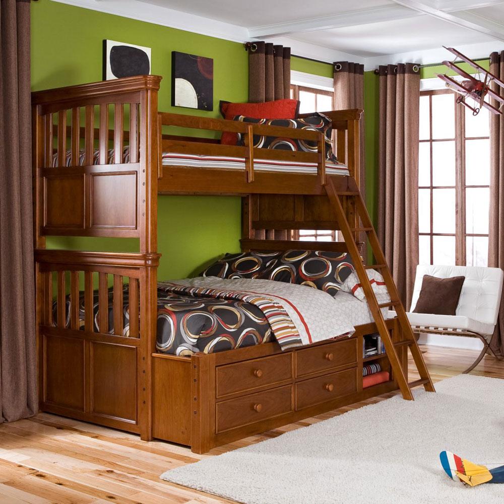 Bunk-Beds-Design-Ideas-13 Idées de lits superposés pour garçons et filles: 58 meilleures conceptions