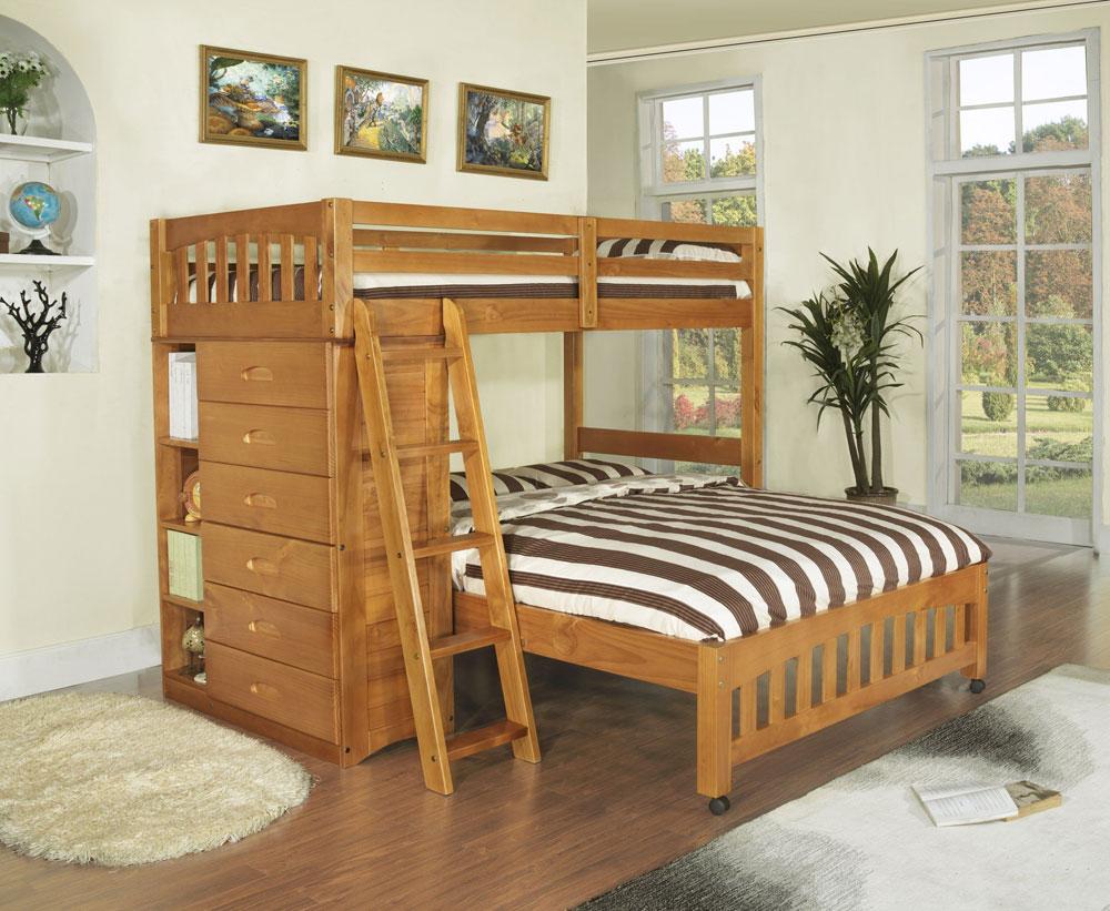 Bunk-Beds-Design-Ideas-6 Idées de lits superposés pour garçons et filles: 58 meilleures conceptions