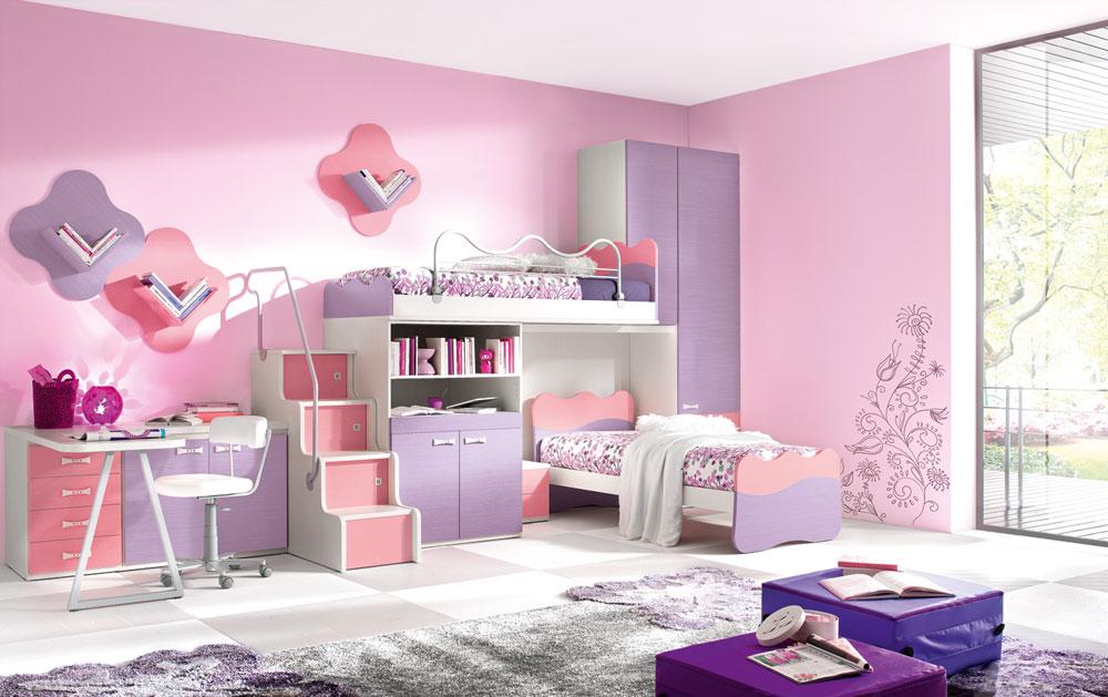 Bunk-Beds-Design-Ideas-11 Idées de lits superposés pour garçons et filles: 58 meilleures conceptions
