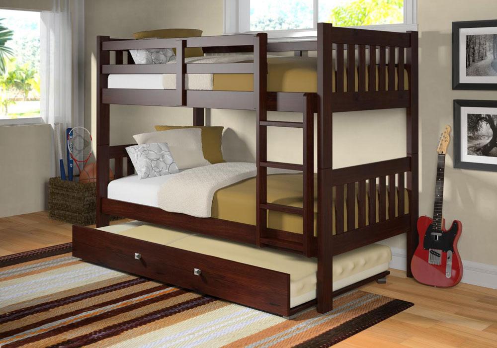 Bunk-Beds-Design-Ideas-12 Idées de lits superposés pour garçons et filles: 58 meilleures conceptions