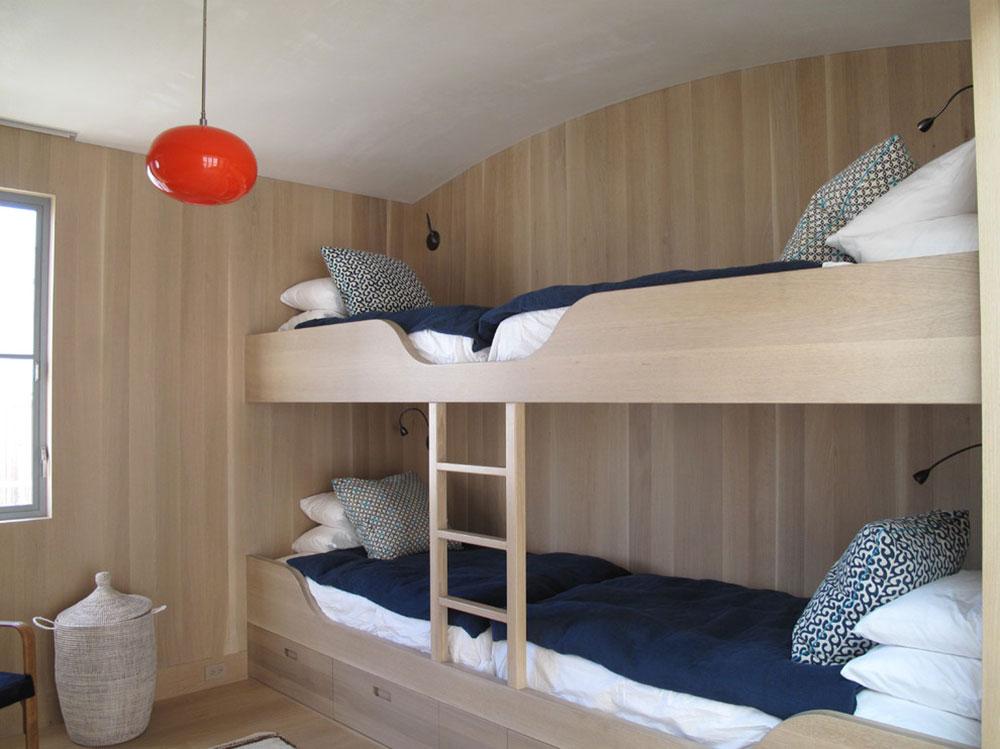 Votre enfant va adorer ces lits superposés avec escalier2 idées de lits superposés pour garçons et filles: 58 meilleures conceptions