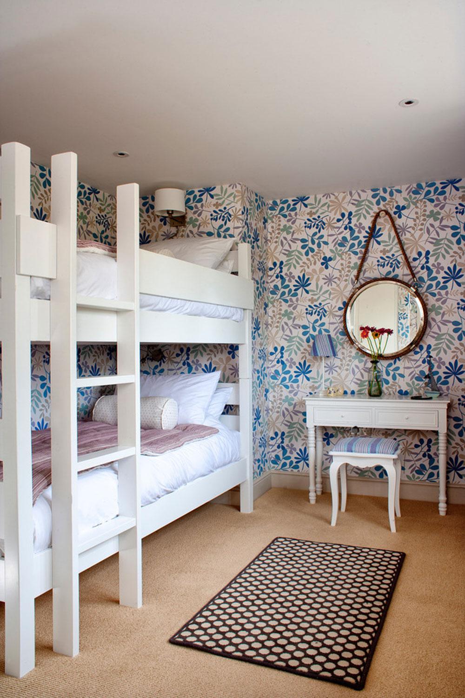 Votre enfant va adorer ces lits superposés avec escalier1 idées de lits superposés pour garçons et filles: 58 meilleures conceptions