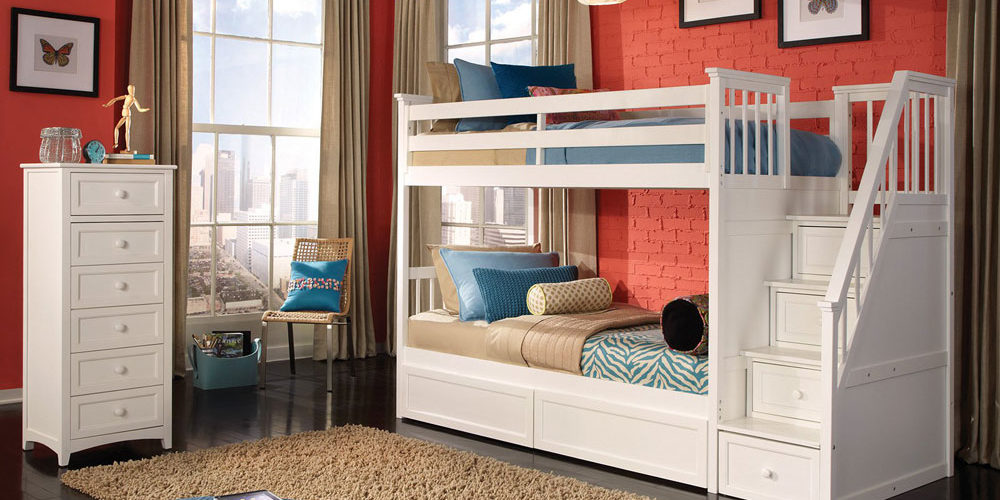 Your-Child-Will-Love-These-Bunk-Beds-With-Stairs3 Bunk Bed Ideas For Boys And Girls: 58 Best Designs