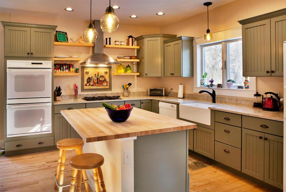 Bozeman-Second-Story-Addition-and-New-Kitchen-by-Peter-Q-Brown-Innovative-Design Comment mettre à jour les armoires de cuisine sans les remplacer