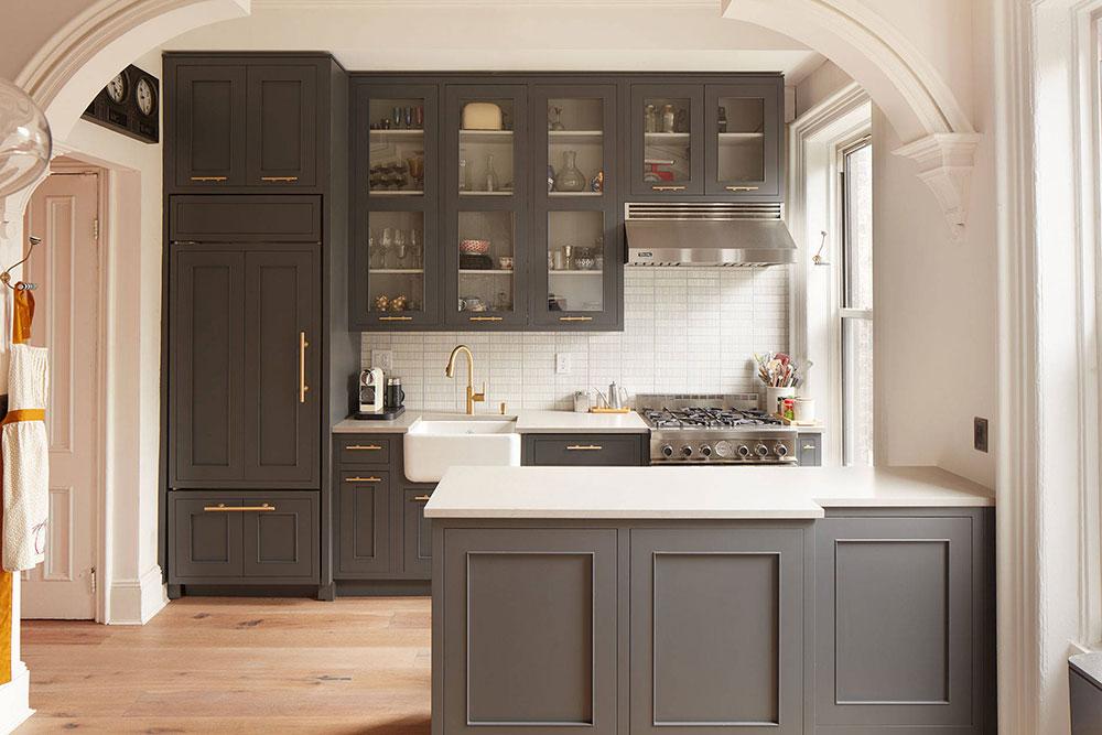 Park-Slope-Townhouse-Renovation-by-Studio-Geiger-Architecture Comment mettre à jour les armoires de cuisine sans les remplacer