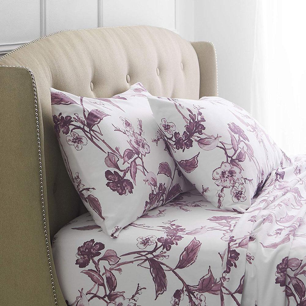 Ensemble de draps pour grand lit en flanelle de coton et velours Pinzon Signature Les meilleurs draps en flanelle que vous pouvez obtenir pour votre chambre douillette