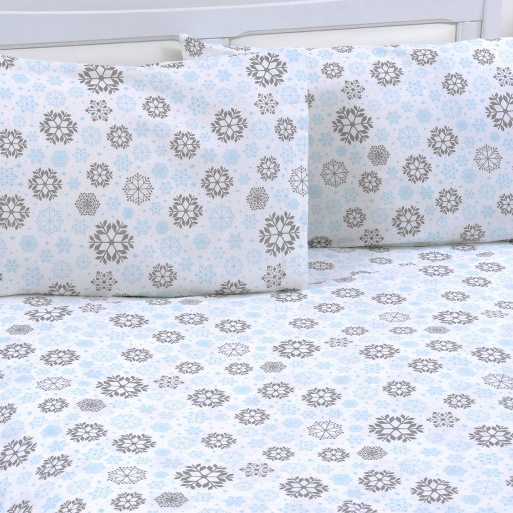 Ensemble de 4 draps en flanelle en coton Les meilleurs draps en flanelle que vous pouvez obtenir pour votre chambre douillette