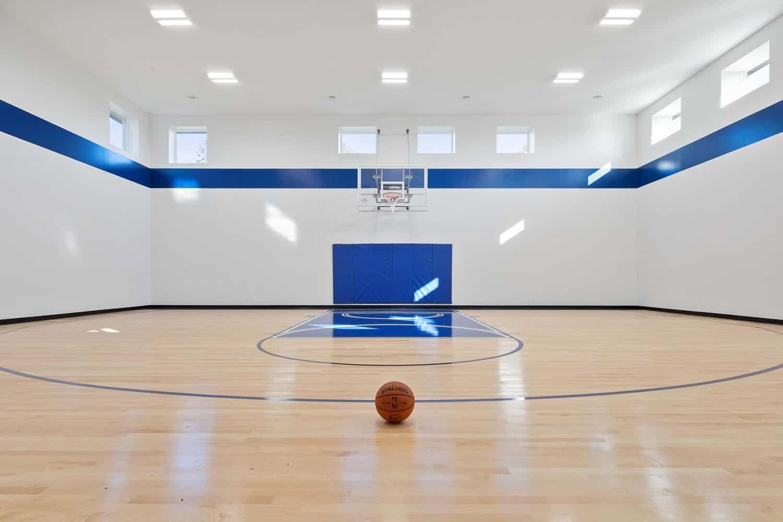 terrain de sport moderne