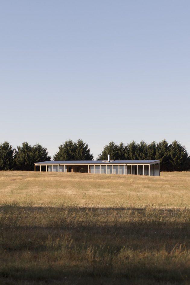Springhill House par Lovell Burton Architects à Melbourne, Australie