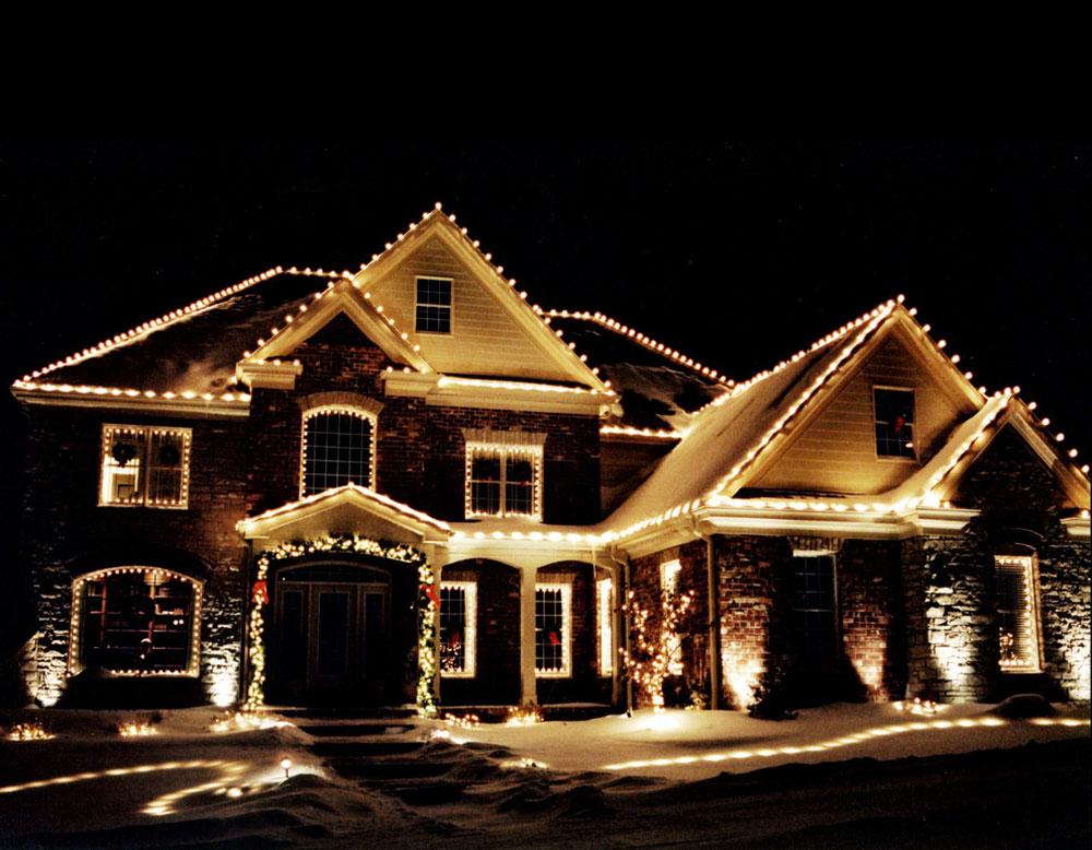 Idées de lumières de Noël extérieures à utiliser lors de la décoration de votre maison