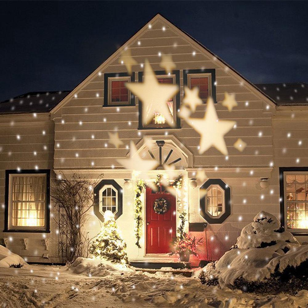étoiles Idées de lumières de Noël en plein air à utiliser pour décorer votre maison
