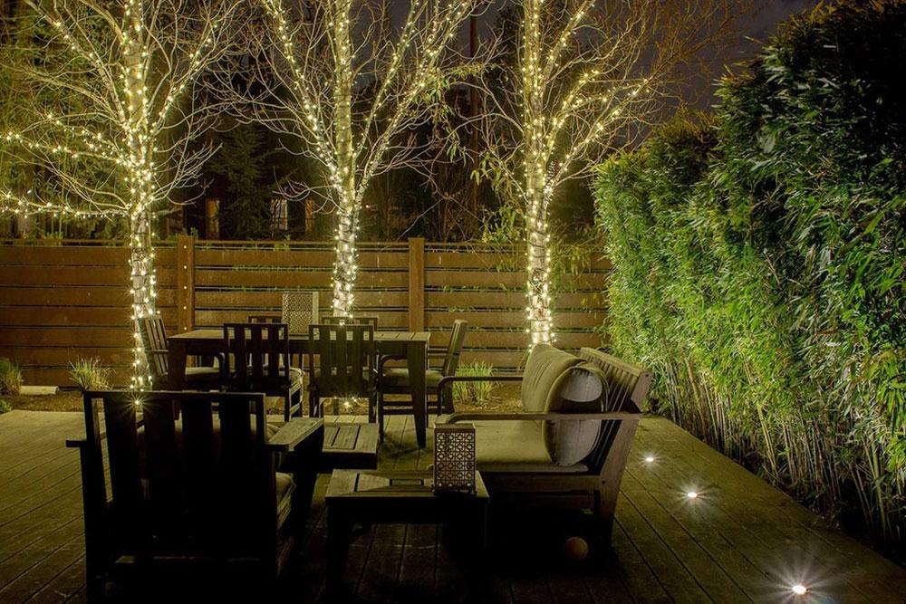 Éclairage de terrasse et guirlandes d'extérieur sur Belmont par Light-Up-Nashville Idées de lumières de Noël extérieures à utiliser lors de la décoration de votre maison