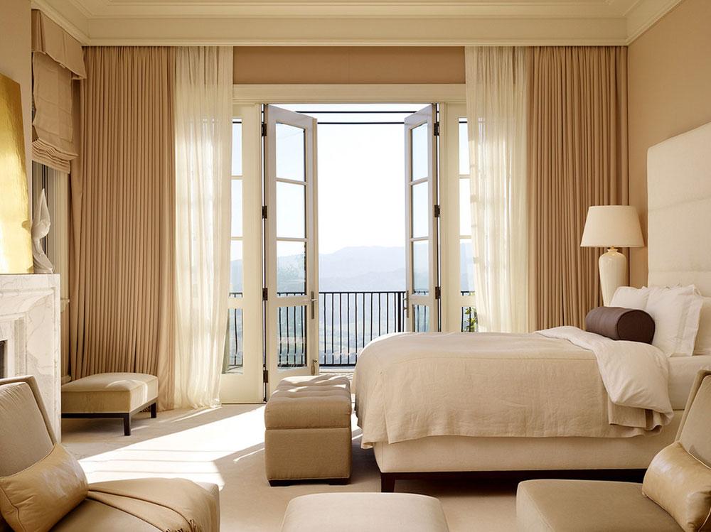 Soda-Canyon-Residence-by-BAR-Architects Idées de chambre beiges pour décorer votre chambre dans une couleur neutre