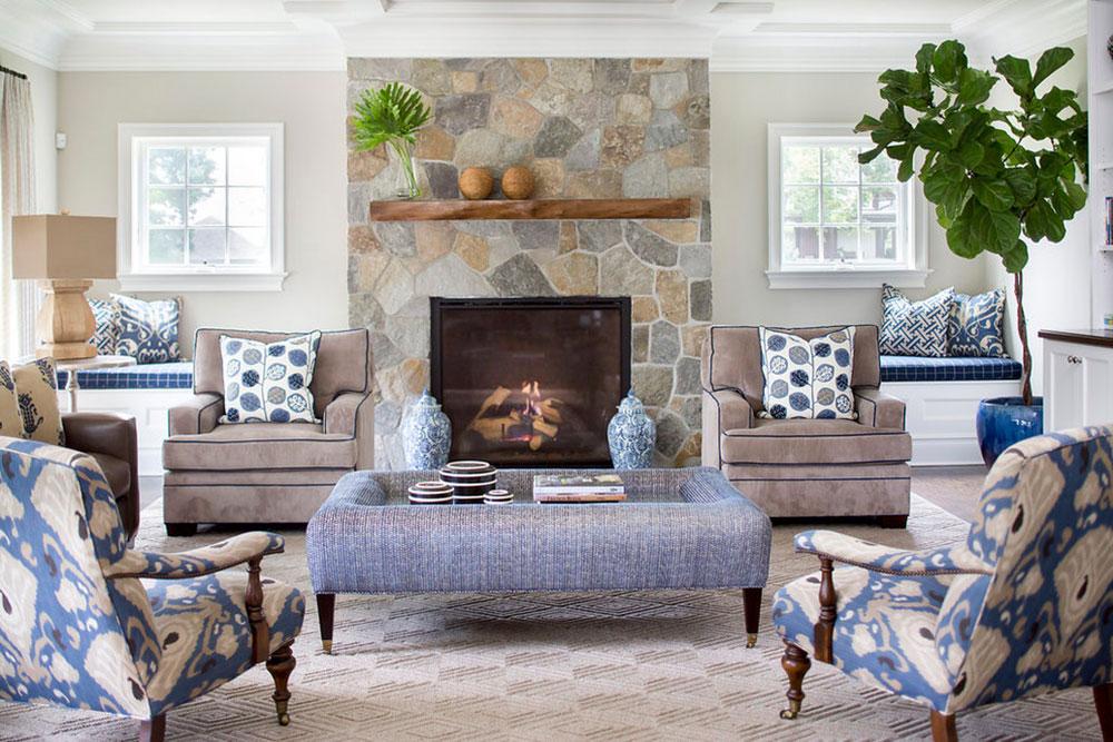 Rye-Transitional-home-by-Lorraine-Levinson-Interior-Design Comment refaçonner une cheminée pour un look incroyable