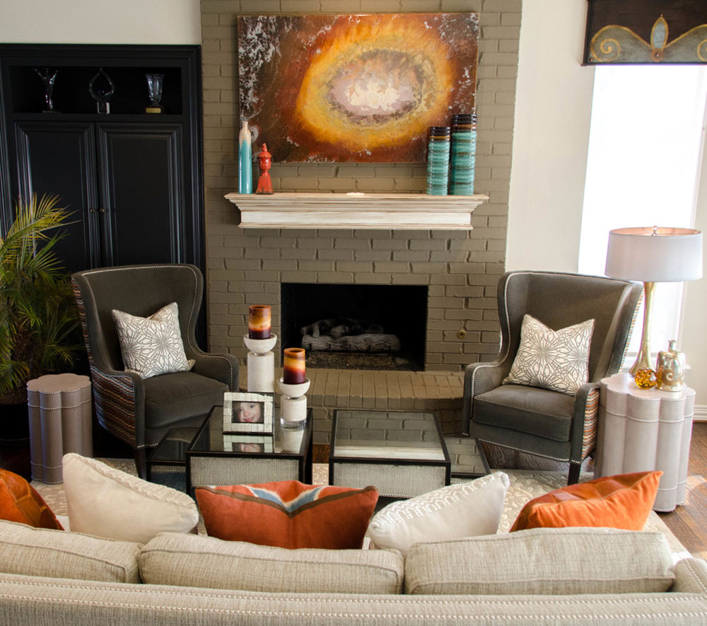 Olivias-Family-Room-by-Kevin-Twitty-Interiors Comment refaçonner une cheminée pour qu'elle soit incroyable