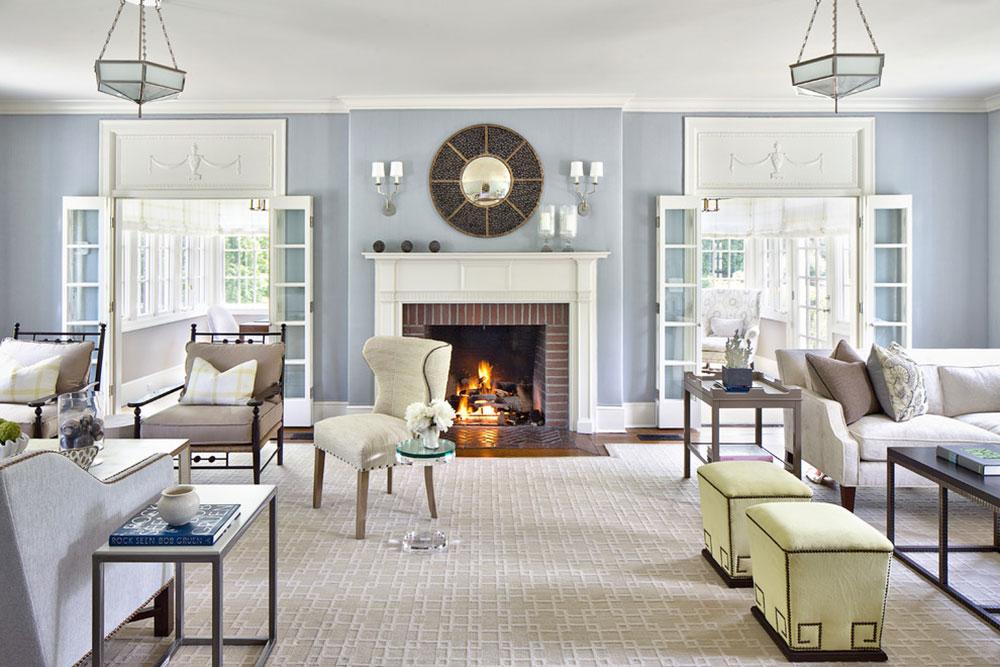 Living-room-by-Alisberg-Parker Comment refaçonner une cheminée pour un look incroyable