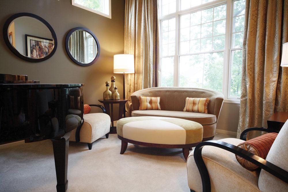 Soft-Contemporary-Living-Room-by-Herrick-Design-Group Comment organiser des meubles dans un salon maladroit