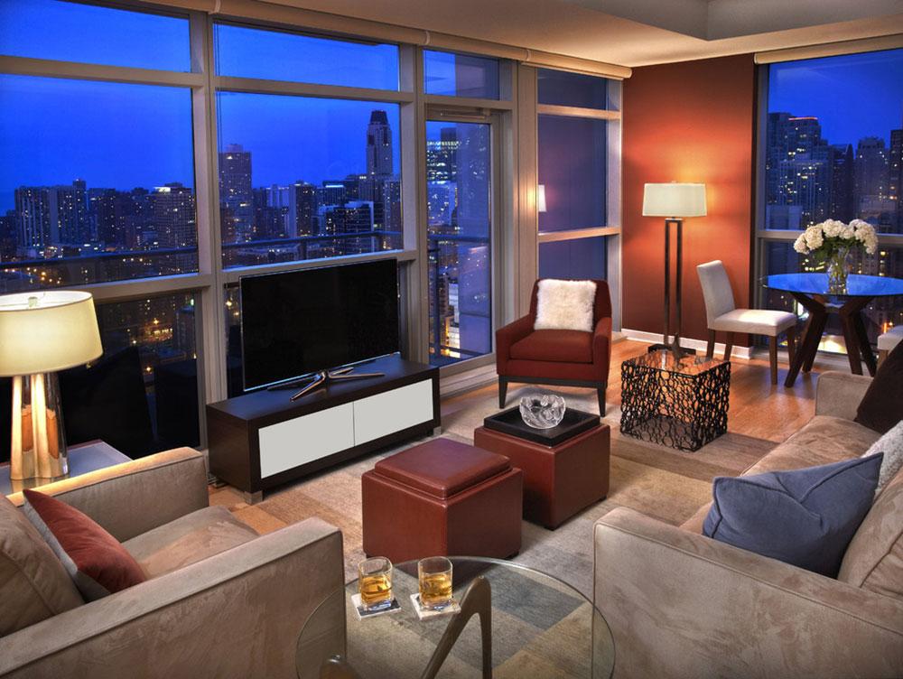 Living-Room-by-TZS-Design Comment organiser les meubles dans un salon peu commode