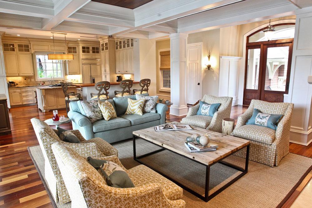 Kiawah-Family-Home-by-Margaret-Donaldson-Interiors Comment organiser les meubles dans un salon maladroit