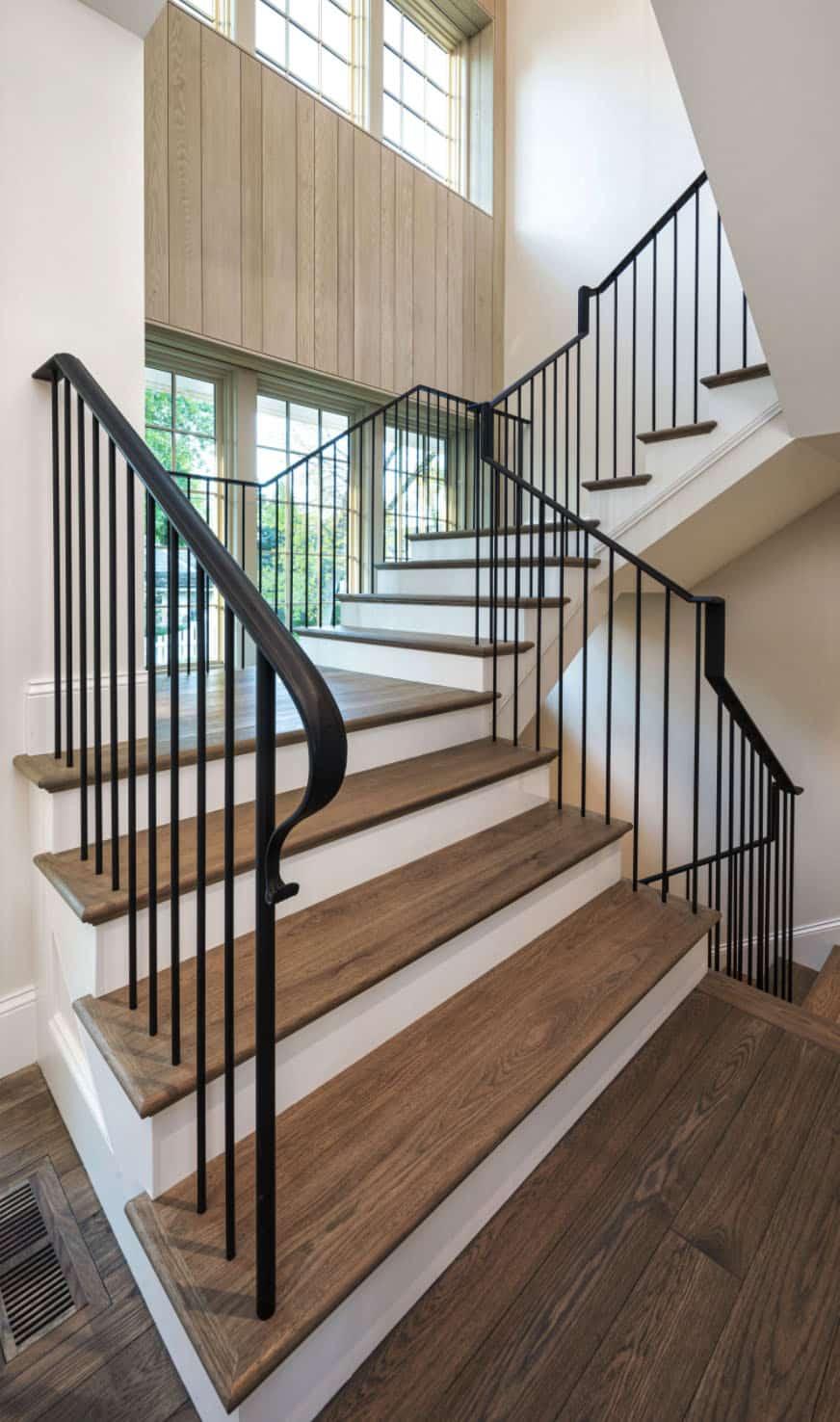 escalier de style plage