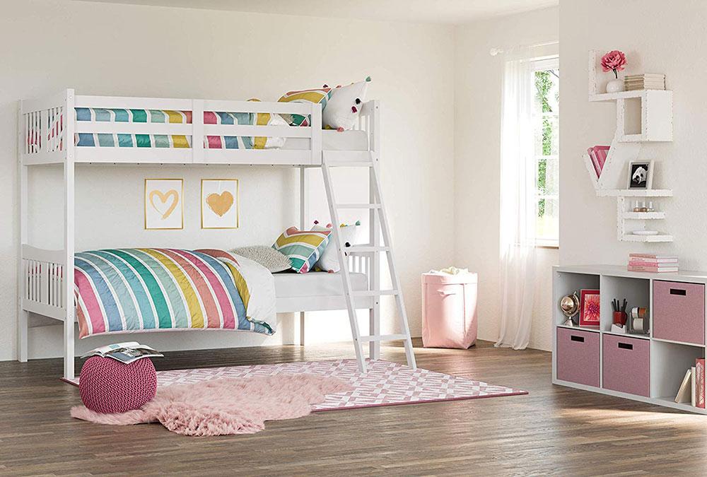 81EuT9PKDmL._SL1500_ Idées de lits superposés pour garçons et filles: 58 meilleures conceptions