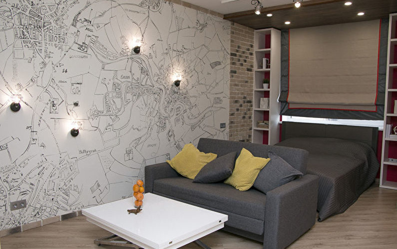 «Свободное творчество»: Квартира 40 м2